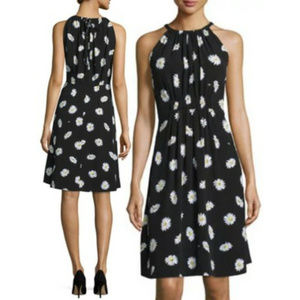 🆕 Kate Spade Daisy Dot Tie Back Halter Dress 6